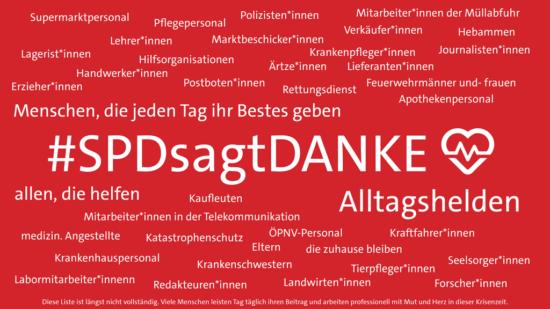 #SPDsagtDanke