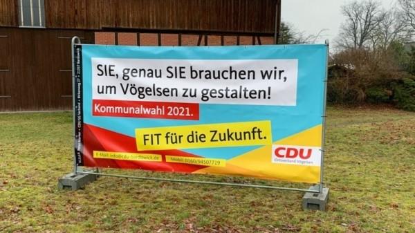 Wahlwerbung CDU