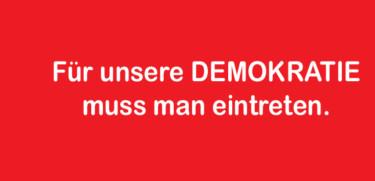 Bühne Demokratie