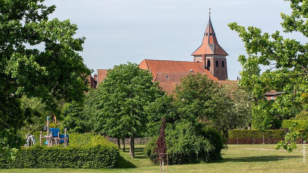 Blick auf die Altstadt von Bleckede