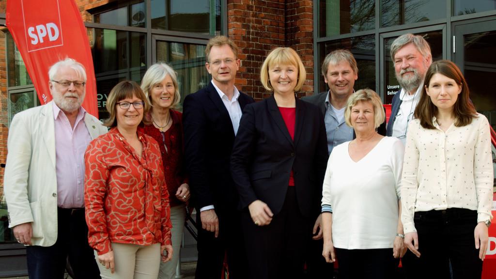 Gruppenfoto vom SPD-Unterbezirksvorstands 2019