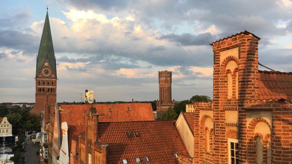 Skyline von Lüneburg